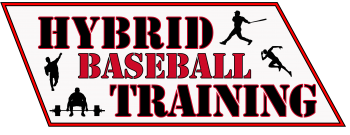 Hybrid Baseball Training Logo Background
